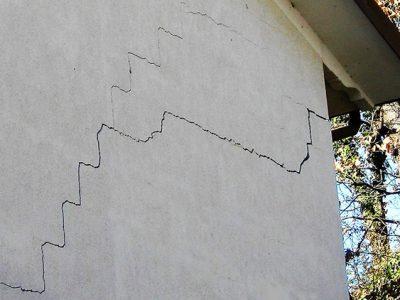 aparicion grietas paredes